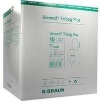 Urimed Tribag Plus Urin-Beinbtl.500ml steril20cm, 10 ST, B. Braun Melsungen AG
