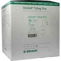 Urimed Tribag Plus Urin-Beinbtl.500ml steril 40cm, 10 ST, B. Braun Melsungen AG