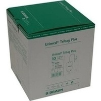 Urimed Tribag Plus Urin-Beinbtl.500ml unster 80cm, 10 ST, B. Braun Melsungen AG