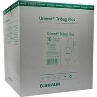Urimed Tribag Plus Urin-Beinbtl.800ml steril 20cm, 10 ST, B. Braun Melsungen AG