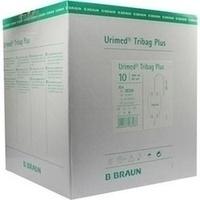 Urimed Tribag Plus Urin-Beinbtl.800ml unster 60cm, 10 ST, B. Braun Melsungen AG