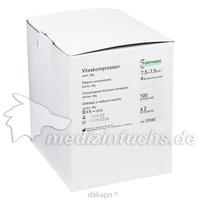 Vlieskompressen 7.5x7.5cm 4-fach a 2 Stück steril, 50X2 ST, Fuhrmann GmbH