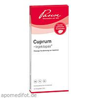 CUPRUM -Injektopas, 10X2 ML, Pascoe pharmazeutische Präparate GmbH