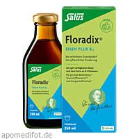 Floradix Eisen plus B12 vegan, 250 ML, Salus Pharma GmbH