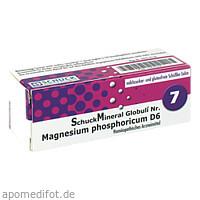 SchuckMineral Globuli 7 Magnesium phosphoricum D6, 7.5 G, Schuck GmbH Arzneimittelfabrik
