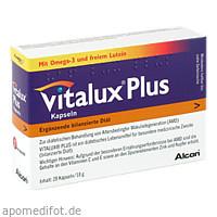 Vitalux Plus Lutein und Omega-3, 28 ST, Alcon Deutschland GmbH