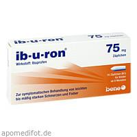 ib-u-ron 75mg Zäpfchen, 10 ST, Bene Arzneimittel GmbH