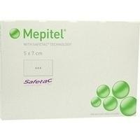 Mepitel Silikon Netzauflage 5x7cm steril, 5 ST, Junek Europ-Vertrieb GmbH