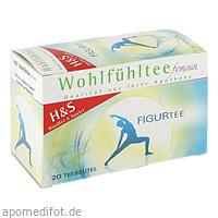 H&S Wohlfühltee feminin Figurtee, 20X1.8 G, H&S Tee - Gesellschaft mbH & Co.