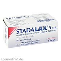 STADALAX 5 mg magensaftressistente überz. Tablette, 100 ST, STADA Consumer Health Deutschland GmbH
