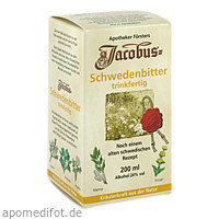 Jacobus Schwedenbitter trinkfertig, 200 ML, PHARMA-LABOR Apotheker H. Förster GmbH