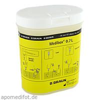 MEDIBOX Entsorgungsbehälter 0,7 l, 1 ST, B. Braun Melsungen AG