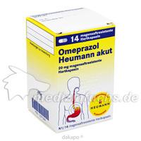 OMEPRAZOL Heumann akut 20mg Multip.magens.Hartkps., 14 ST, Heumann Pharma GmbH & Co. Generica KG