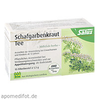 Schafgarbenkraut Arzneitee Millefol.herba bio Sal., 15 ST, Salus Pharma GmbH