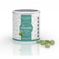 Chlorella Bio Tabletten 400mg, 120 G, Amazonas Naturprodukte Handels GmbH