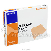 Acticoat Flex 7 5x5cm, 5 ST, Smith & Nephew GmbH