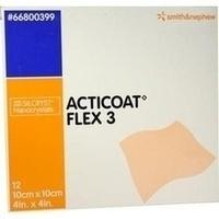 Acticoat Flex 3 10x10cm, 12 ST, Smith & Nephew GmbH