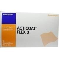 Acticoat Flex 3 10x20cm, 12 ST, Smith & Nephew GmbH