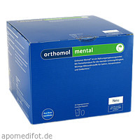 Orthomol Mental, 30 ST, Orthomol Pharmazeutische Vertriebs GmbH