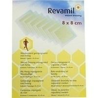 Revamil Wundkompresse 8x8cm m.medizinischem Honig, 7 ST, Rogg Verbandstoffe GmbH & Co. KG