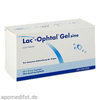 LAC OPHTAL Gel sine, 60X0.6 ML, Dr. Winzer Pharma GmbH