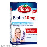 Abtei Biotin 10mg, 30 ST, Omega Pharma Deutschland GmbH