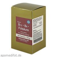 B12 + B6 + Folsäure ohne Lactose, 180 Stück, Fbk-Pharma GmbH