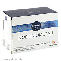 Nobilin Omega 3, 120 ST, Medicom Pharma GmbH