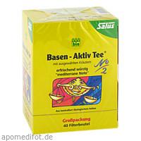Basen Aktiv Tee Nr. 2 Kräutertee mediterran Salus, 40 ST, Salus Pharma GmbH