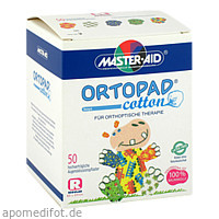 ORTOPAD cotton boys regular Augenokklusionspflast., 50 ST, Trusetal Verbandstoffwerk GmbH