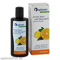 Spitzner Haut- u. Massageöl Zitrone-Orange, 190 ML, Dr.Willmar Schwabe GmbH & Co. KG
