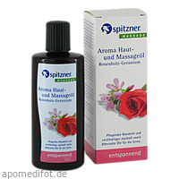 Spitzner Haut- u. Massageöl Rosenholz-Geranium, 190 ML, Dr.Willmar Schwabe GmbH & Co. KG