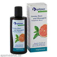 Spitzner Haut- u. Massageöl Grapefruit-Minze, 190 ML, Dr.Willmar Schwabe GmbH & Co. KG