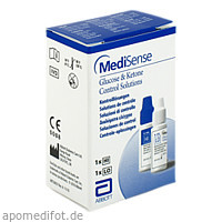 MediSense Kontrolllösungen Glucose + Ketone H/L, 2 FL, Abbott GmbH