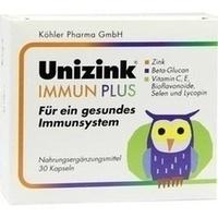 Unizink Immun Plus, 1X30 ST, Köhler Pharma GmbH