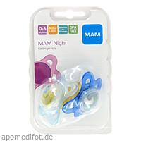 MAM Night Latex 0-6, 2 ST, Mam Babyartikel GmbH