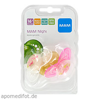 MAM Night Latex 16+, 2 ST, Mam Babyartikel GmbH