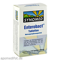 Enterobact Tabletten, 120 ST, Synomed GmbH
