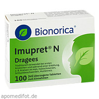 Imupret N Dragees, 100 ST, Bionorica Se