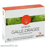Nobilin Galle-Dragee mit Artischocke, 60 ST, Medicom Pharma GmbH