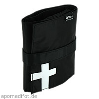 Reiseapotheke Mini Pocket ca.DIN A6 schwarz, 1 ST, O-Box GmbH