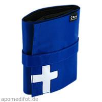 Reiseapotheke Mini Pocket ca.DIN A6 blau, 1 ST, O-Box GmbH