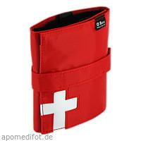 Reiseapotheke Mini Pocket ca.DIN A6 rot, 1 ST, O-Box GmbH