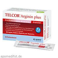 TELCOR Arginin plus Btl., 30 ST, Quiris Healthcare GmbH & Co. KG