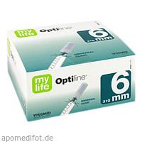mylife Optifine 6mm Kanülen, 100 ST, Ypsomed GmbH