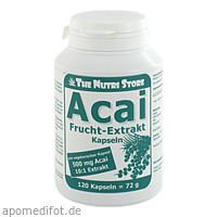Acai Frucht-Extrakt 500mg vegetarische, 120 ST, Hirundo Products