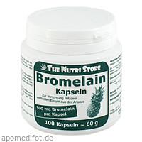 Bromelain 500mg vegetarische, 100 ST, Hirundo Products