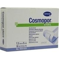 Cosmopor steril 7.2cmx5cm, 10 ST, Bios Medical Services GmbH