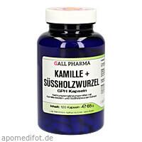 Kamille+Süssholzwurzel GPH Kapseln, 120 ST, Hecht-Pharma GmbH