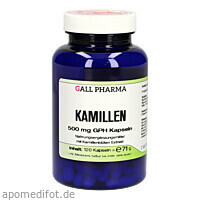 Kamillen 500mg GPH Kapseln, 120 ST, Hecht-Pharma GmbH